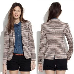 Madewell Tailored Crossweave Tweed Blazer 6